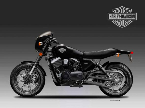 Zou kunnen: Harley- Davidson CR 1/4