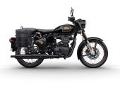 Royal Enfield eert einde 500 met Tribute Black