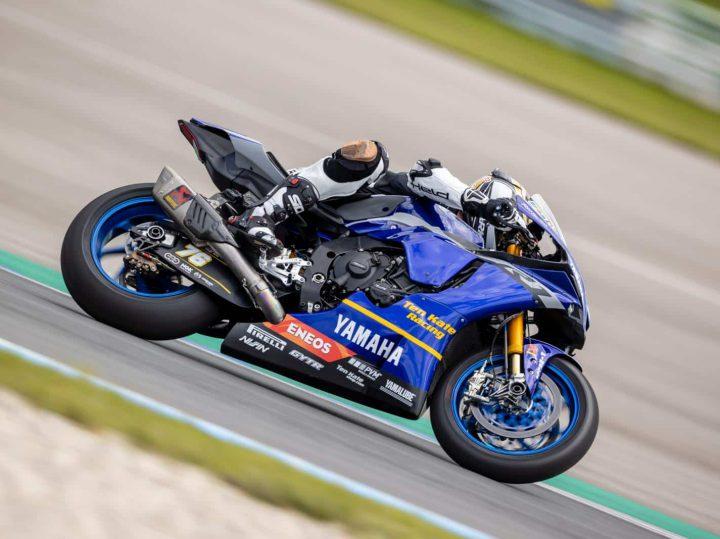 Racertest Ten Kate Racing SBK Yamaha YZF-R1