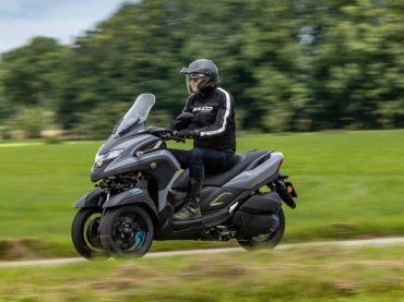 Yamaha 300 Tricity – Eerste test