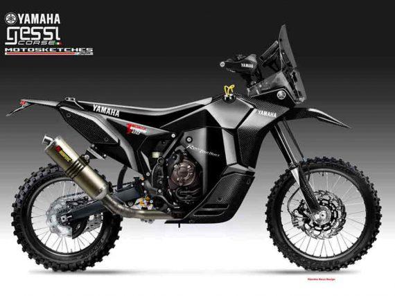 Yamaha Ténéré 700 Black Ivory