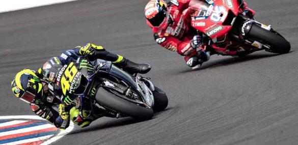 Valentino Rossi: 'Portimao: een ongelooflijk circuit'.