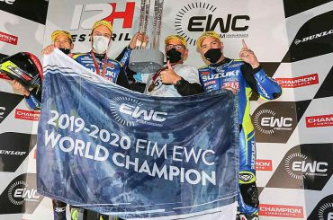 Suzuki is wereldkampioen endurance 2020.