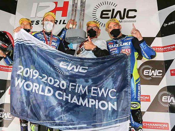 Suzuki is wereldkampioen endurance 2020.