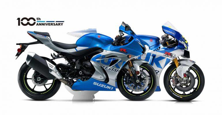 Suzuki viert 100 jaar met gewaagde nieuwe graphics