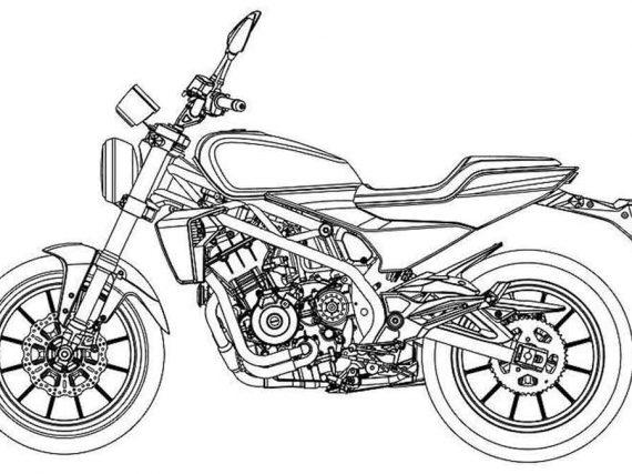 Harley-Davidson 338R: de definitieve tekeningen