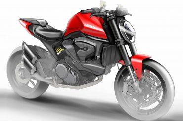 Nieuwe Ducati Monster 821 in de maak