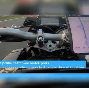 '270 km/u motorrijders' opgepakt