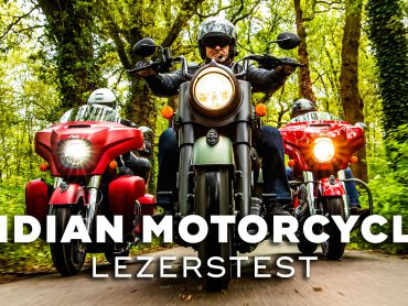Indian Motorcycle Lezerstest 2020