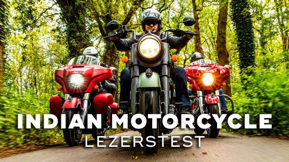 Indian Motorcycle Lezerstest 2020