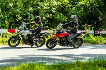 Dubbeltest Honda CB500X vs. Voge 500DS