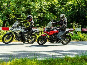 Dubbeltest Honda CB500X vs. Voge 500DS