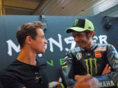 Zondagmorgenfilm: F1-coureur Norris en Valentino Rossi