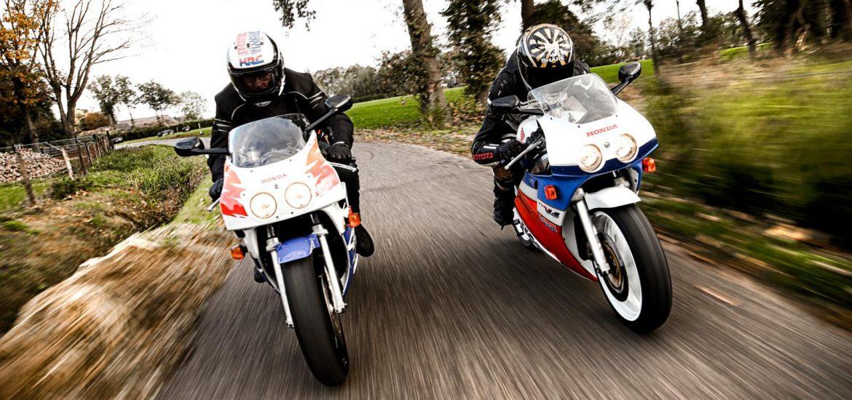 Honda VFR400R NC30 en CBR400RR NC29