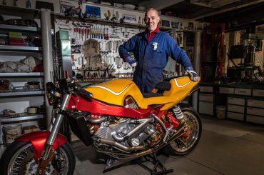 The Machine – V8-motorfiets van Epi Huisman