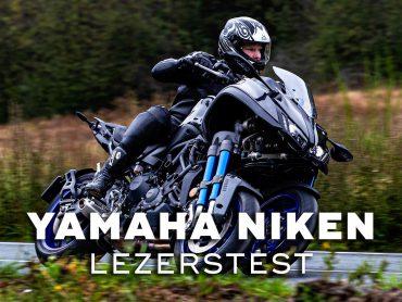 Yamaha NIKEN Lezerstest 2020