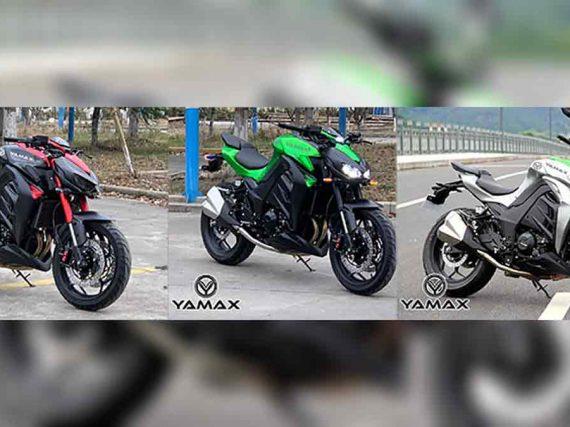 Yamax Z400, de Chinese kopieermachine slaat toe