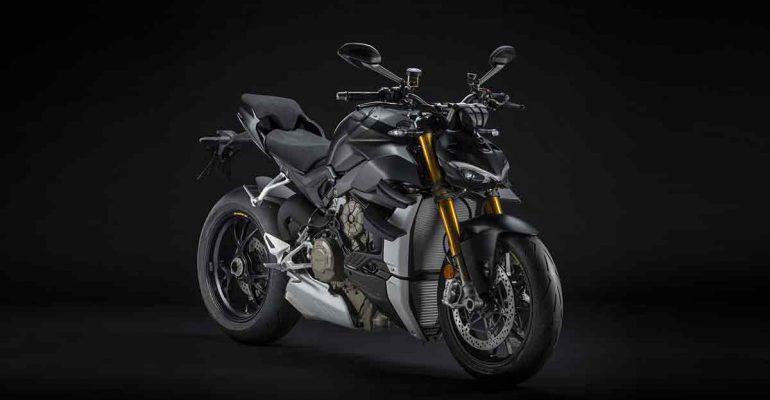 2021 Ducati Streetfighter V4 Dark Stealth