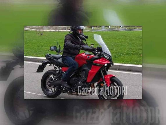 2021 Yamaha Tracer 900 gespot
