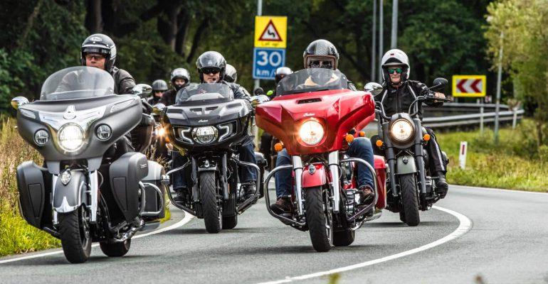 Lezerstest Indian Motorcycle