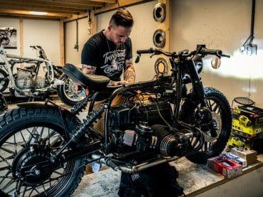 Motormaker: Arjan van den Boom, Ironwood Motorcycles