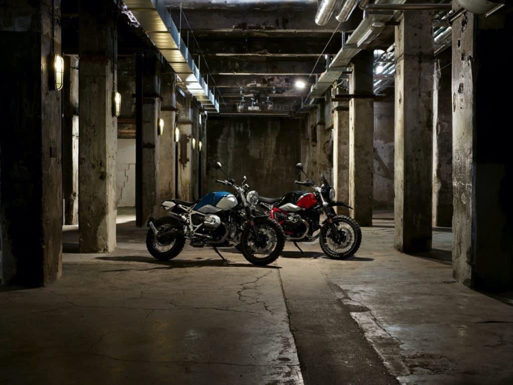 BMW R nineT Scrambler and BMW R nineT Urban G/S.