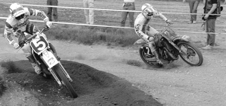 Dave Strijbos (2) en John van den Berk (5)