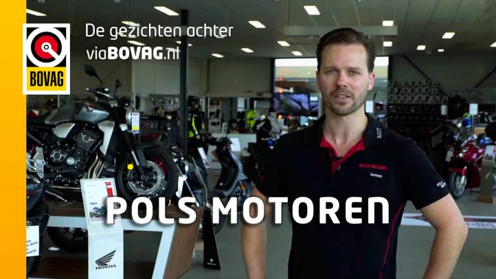 De gezichten achter viaBOVAG.nl: Honda-dealer Pols Motoren
