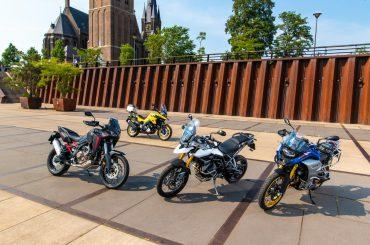 Multitest: BMW F850GS, Honda Africa Twin, Suzuki V-Strom, Triumph Tiger 900