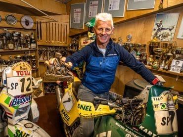 Gerard Jimmink: 'Elke Dakar heb ik wel één keer geluk gehad'