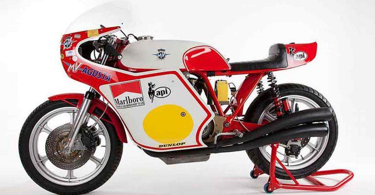 MV Agusta/Magni Agostini replica motorfiets