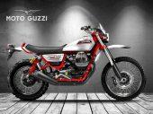 Moto Guzzi Stornello volgens Oberdan Bezzi