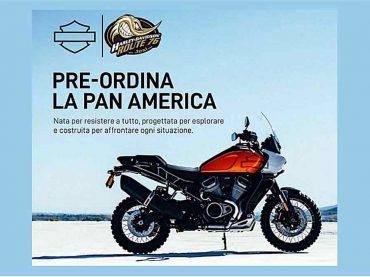 Harley-Davidson Pan America: pre-order in Italië