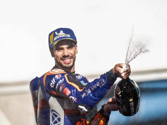 MotoGP Portugal: galavoorstelling Miguel Oliveira