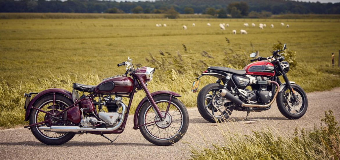 Triumph Speed Twin 1952 en 2020
