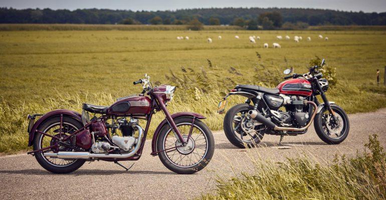 Triumph Speed Twin 1952 en 2020 – Oud & Nieuw