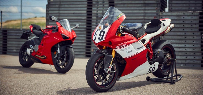 Ducati 1098 vs. Ducati Panigale V2
