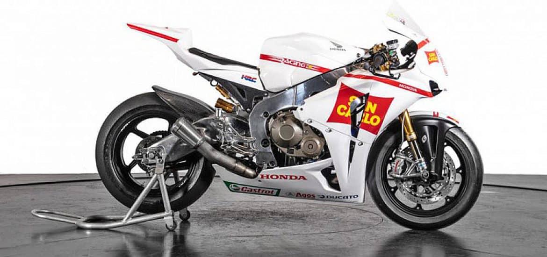 De Honda CBR1000RR van Marco Simoncelli