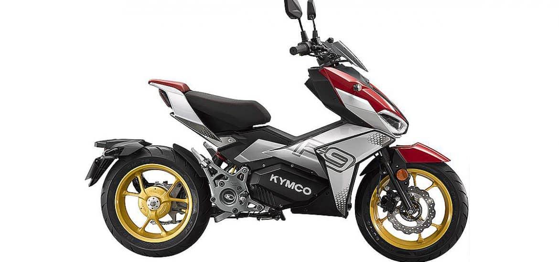 2021 Kymco F9 elektrische sportscooter