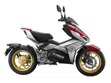 2021 Kymco F9 elektrische sportscooter met versnellingsbak