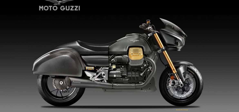 Moto Guzzi Racing Bagger