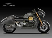 Moto Guzzi Racing Bagger, born to race
