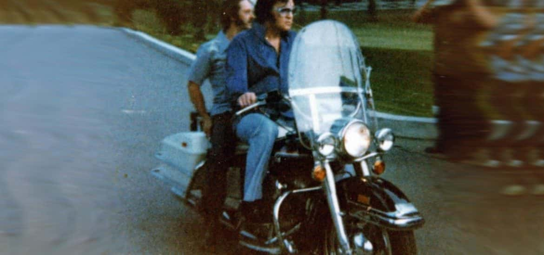 Elvis Presley Harley-Davidson FLH 1200 1975