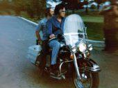 1975 Harley-Davidson FLH 1200 van Elvis Presley in Hollywood veiling