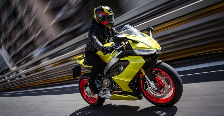 Aprilia: Het sportmotorenmerk bij uitstek presenteert de RS 660