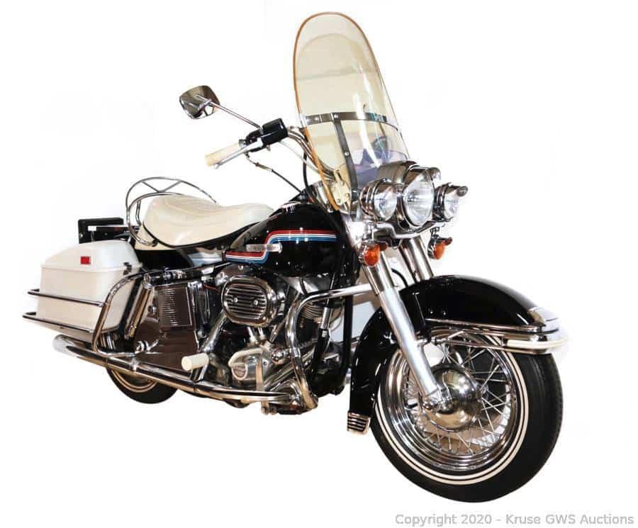 Harley-Davidson 1975 Elvis Presley