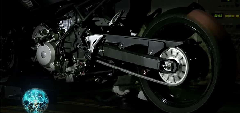 Kawasaki gokt op hybride motorfiets
