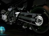 Kawasaki gokt op hybride motorfiets (video)