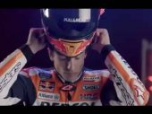 Marc Márquez showt 2021 MotoGP-helm (video)