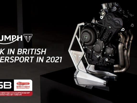 Triumph en PTR Racing in British Supersport-kampioenschap